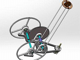 无碳小车 RBCD2019 solidworks 3D图纸 三维模型