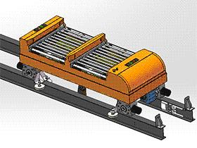 车间补货RGV穿梭车 带工程图 rbce2002 solidworks 3D图纸 三维模型