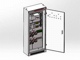 XL-21配电柜 SMAA2011 solidworks 3D图纸 三维模型