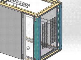 GGD三维图 SMAA2015 solidworks 3D图纸 三维模型