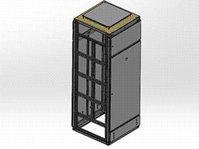 GGD骨架装配 SMAA2016 solidworks 3D图纸 三维模型