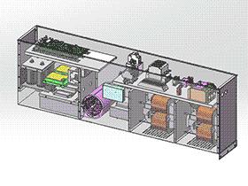 APF100三相四线制 SMAA2019 solidworks 3D图纸 三维模型