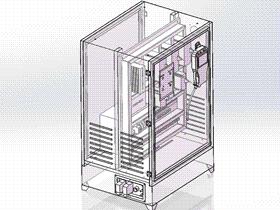机器人电控箱 SMAC1001 solidworks  3D图纸 三维模型
