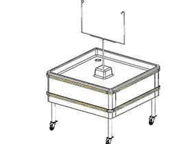 超市系列设备--冰鲜盘 smag2001 solidworks 3D图纸 三维模型