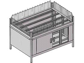 超市系列设备--促销台 smag2002 solidworks 3D图纸 三维模型