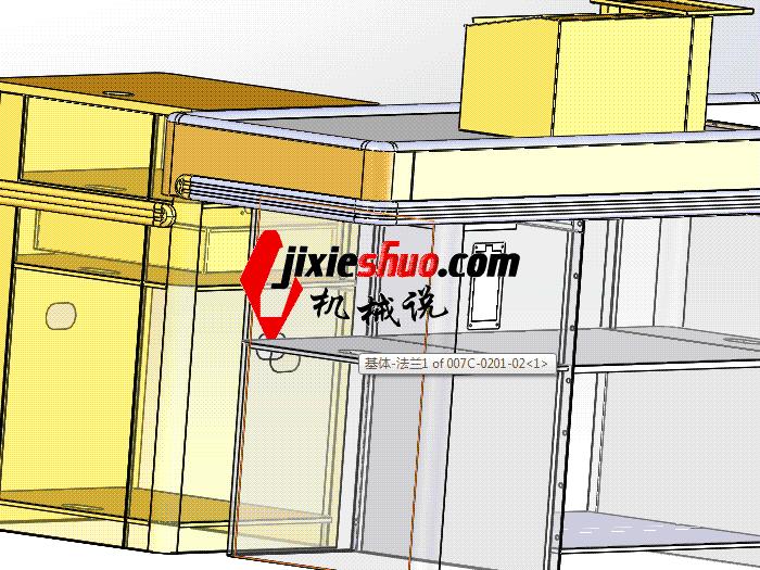 超市系列设备–收银台 smag2010 solidworks 3D图纸 三维模型