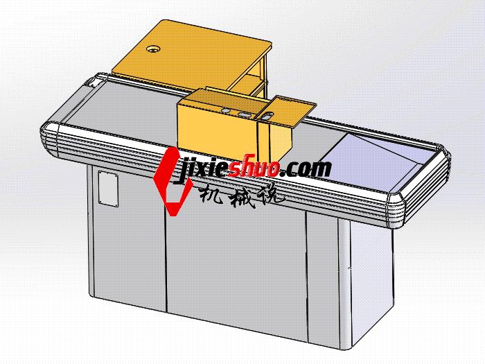 超市系列设备–收银台 smag2011 solidworks 3D图纸 三维模型