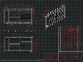 户外柜体组件 SMAI0001 solidworks  3D图纸 三维模型