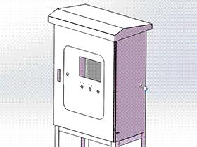 户外不锈钢 带工程图 SMAI2003 solidworks  3D图纸 三维模型