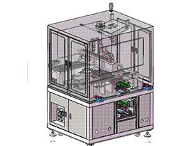 电池移印设备 移印机 SPAB1002 solidworks 3D图纸 三维模型