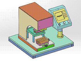 移印机 spab1006 通用格式 3D图纸 三维模型