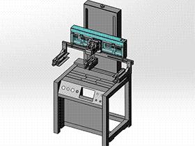 移印机 spab1007 通用格式 3D图纸 三维模型