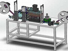 半导体器件移印包装机 SPAB2002 solidworks 3D图纸 三维模型