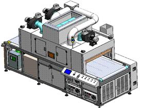 三灯式UV固化机 手机屏幕UV固化 SPAC2001 solidworks  3D图纸 三维模型