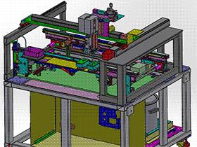 卷材涂布机 SPAD1001 solidworks  3D图纸 三维模型