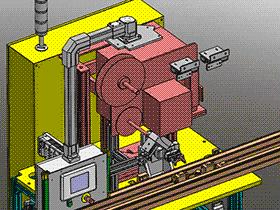 自动化印刷设备SPAD1003 solidworks  3D图纸 三维模型