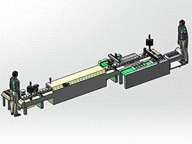 喷涂设备 SPAD2005 solidworks 3D图纸 三维模型