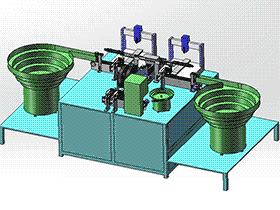 自动点胶贴标设备 SPAH1004 solidworks 3D图纸 三维模型