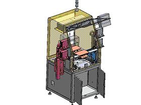 上下料点胶机 SPAH1005 solidworks 3D图纸 三维模型