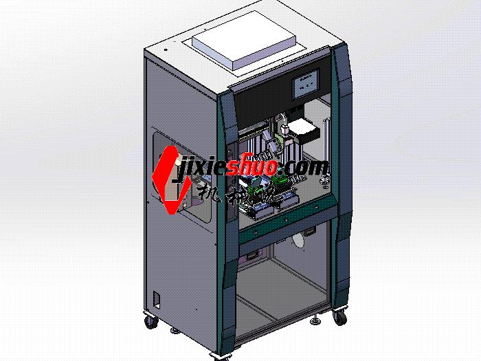 手环自动点胶机(带CCD功能) SPAH2002 solidworks格式 3D图纸 三维模型