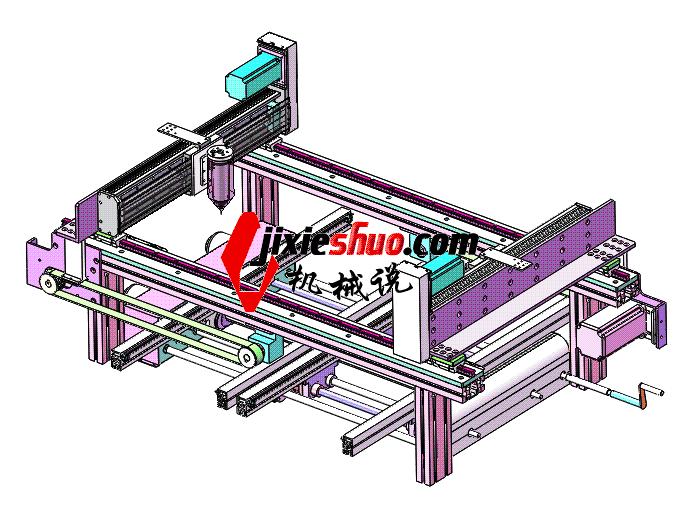 点热容胶机在线式  SPAH2006 solidworks格式 3D图纸 三维模型