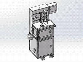 自动涂油机 SPAU1006 solidworks 3D图纸 三维模型