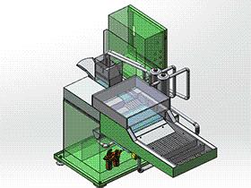 双油路涂油机 带工程图 SPAU2002 solidworks 3D图纸 三维模型