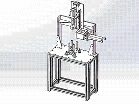 涂油机构 SPAU2003 solidworks 3D图纸 三维模型