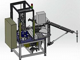 喷油器主杆装配机 带工程图 SPAU2006 solidworks 3D图纸 三维模型