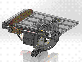 可调节式台锯 zdcs2001