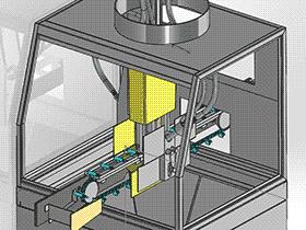 圆柱形零件自动上料输送机构 SPHA1002 solidworks  3D图纸 三维模型