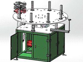 轴套自动供料机 带工程图 SPHA2002 solidworks  3D图纸 三维模型