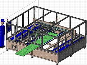 育苗移栽分拣设备 SPHB1002 solidworks 3D图纸 三维模型