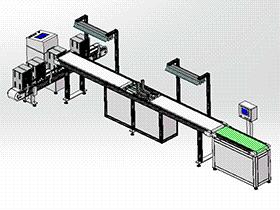 蓄电池极板分拣输送线 SPHB1004 solidworks 3D图纸 三维模型