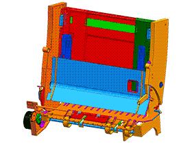 Epson打印机进纸装置 SPHC1003 solidworks  3D图纸 三维模型