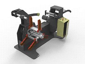 自动机床冲床送料架开卷设备 SPHC1006 solidworks  3D图纸 三维模型