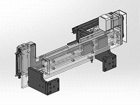 夹具传送装置机械设计 SPHD1002  solidworks 3D图纸 三维模型