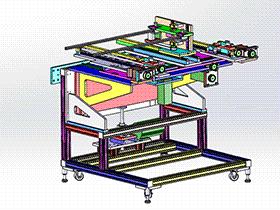 送料机 SPHD1005  solidworks 3D图纸 三维模型