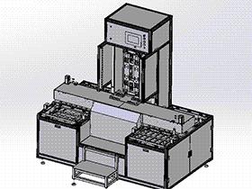 苹果系高速自分动上料机 SPHH1003 solidworks  3D图纸 三维模型