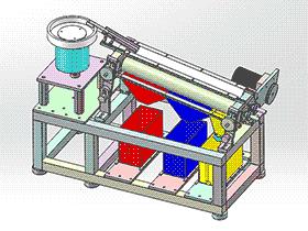 分选机 sphl1002 solidworks 3D图纸 三维模型