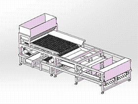 土豆自动筛选机、分选机、自动切片 sphl1004 solidworks 3D图纸 三维模型
