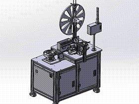 卡扣端子分选机 sphl1005 solidworks 3D图纸 三维模型