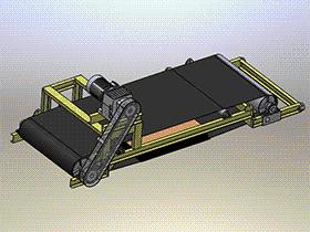 磁选机、磁性分选机 sphl2005 solidworks格式 3D图纸 三维模型