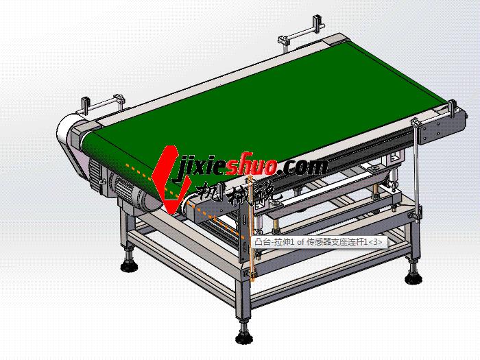 自动检重秤、重量分选机 sphl2006 solidworks格式 3D图纸 三维模型