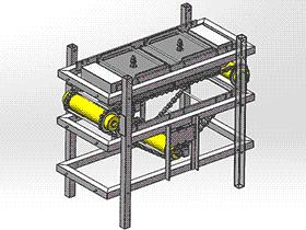 包装食品组装机 SPJA2004 Solidworks 格式 3D图纸 三维模型