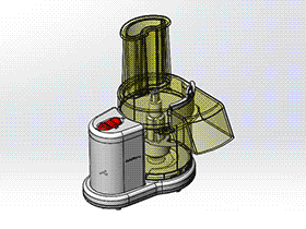 食品加工机 SPJA2010 Solidworks 格式 3D图纸 三维模型