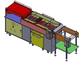 自动化油炸食品机 SPJA2016 Solidworks 格式 3D图纸 三维模型