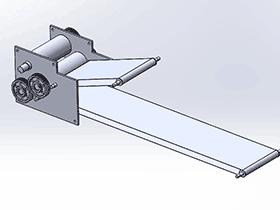 压面机 SPJA2017 Solidworks 格式 3D图纸 三维模型