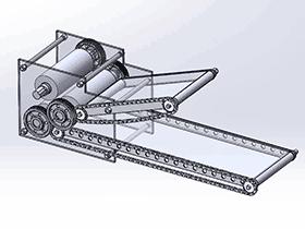 压面机 SPJA2018 Solidworks 格式 3D图纸 三维模型