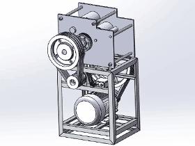 压面机 SPJA2020 Solidworks 格式 3D图纸 三维模型